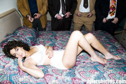 Lindsay Lohan As Linda Lovelace In Her Underwear