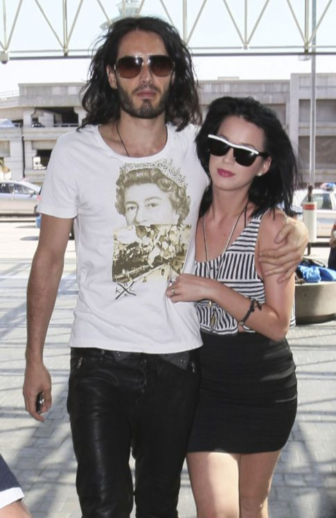 Katy Perry's Sending Russell Brand To Space