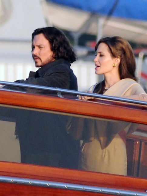 Angelina Jolie Tries To Get In Johnny Depp's Pants