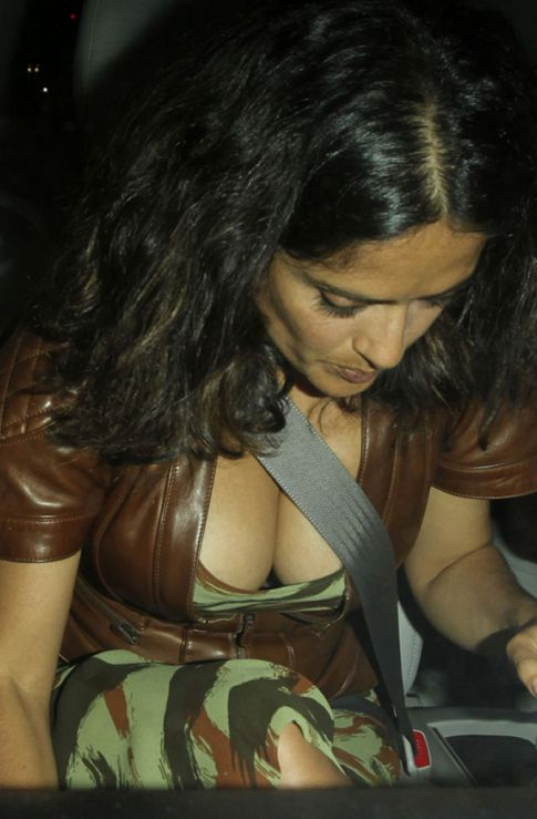 Salma Hayek Gives Us A Nice View