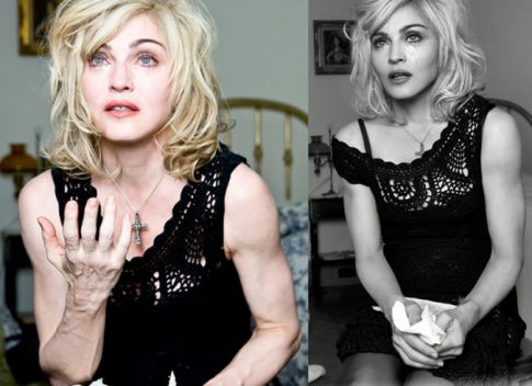 Madonna Angry Over Released Untouched Dolce & Gabbana AD Photos