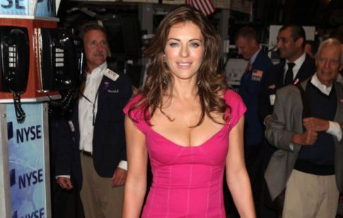 Elizabeth Hurley's Cleavage Of The Week