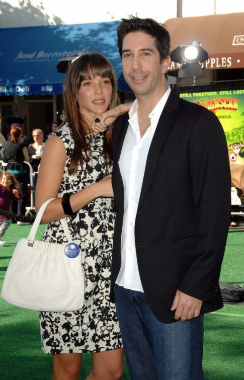 David Schwimmer Secretly Wed Girlfriend Back In June
