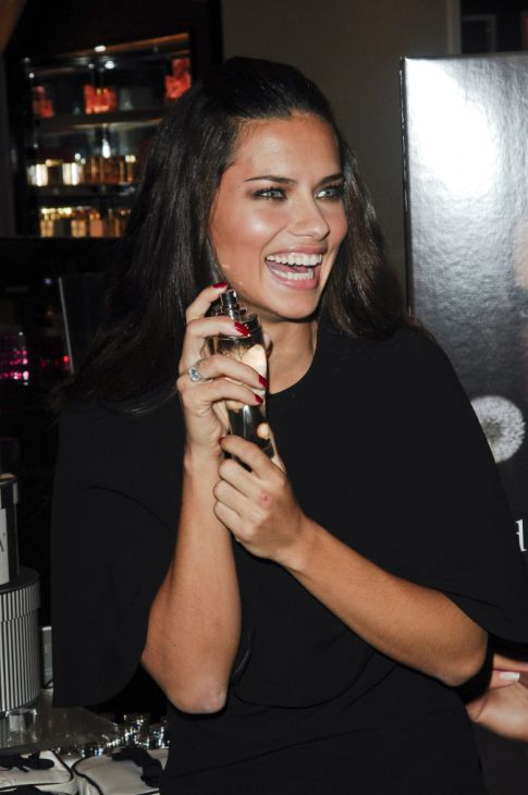 Adriana Lima Launches New Fragrance, Really Really Excited