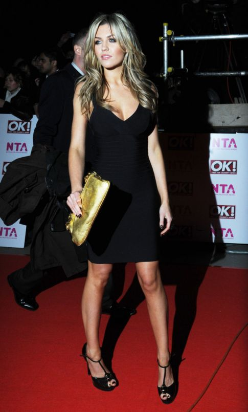Abigail Clancy is Nationally Televised, Hot