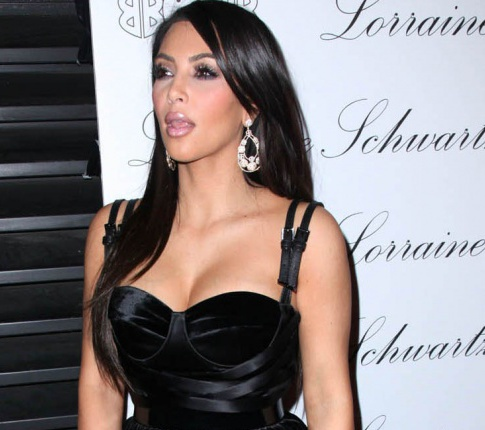 Nightly Treat: Kim Kardashian's Sexy Faces