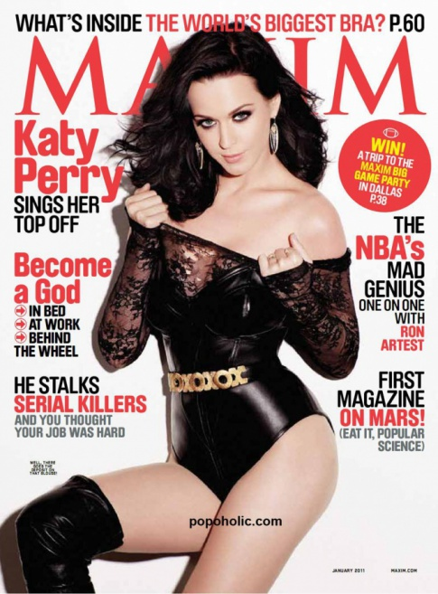 "Katy Perry's Hot ""Maxim"" Cover"
