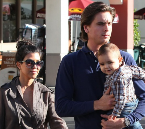 Scott Disick Tries To Negotiate His Kid