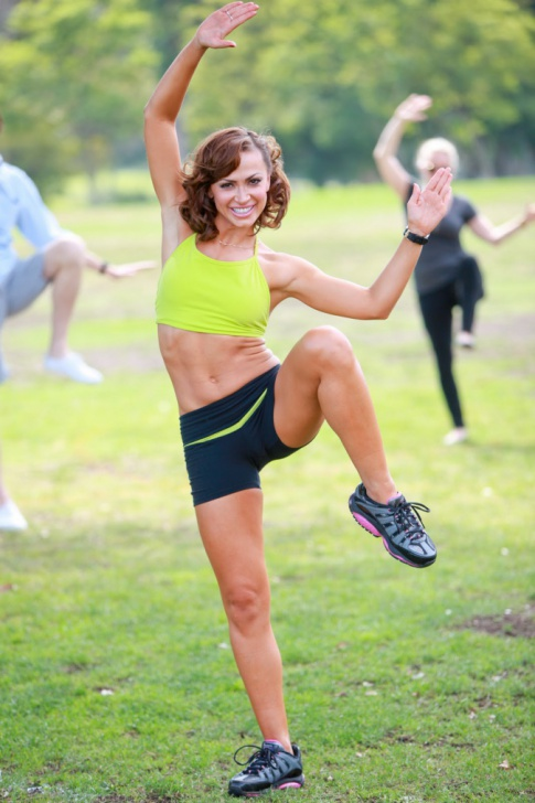 "Hollywood Chaos Exclusive: Karina Smirnoff Talks New Workout DVD, Marriage, And ""DWTS"""