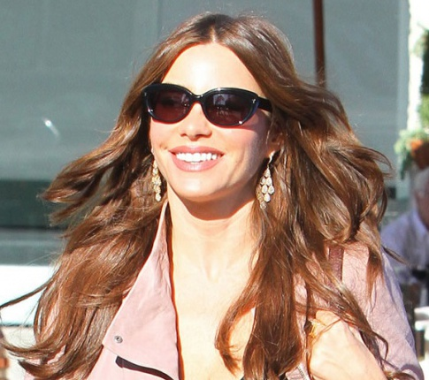 Hot Girl Hump Day: Sofia Vergara's See Through Shirt