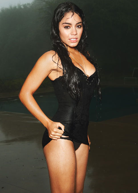 "Vanessa Hudgens Gets Wet For ""Details"" Magazine"