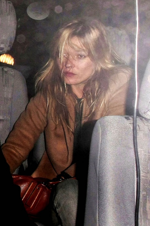 Kate Moss Is A Drunk And Horny Mess