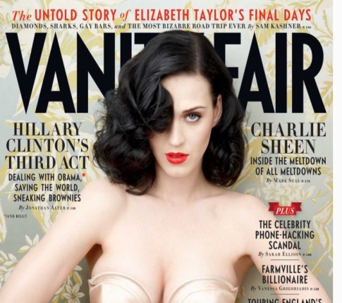 "Katy Perry's Gorgeous On The Cover Of ""Vanity Fair"""