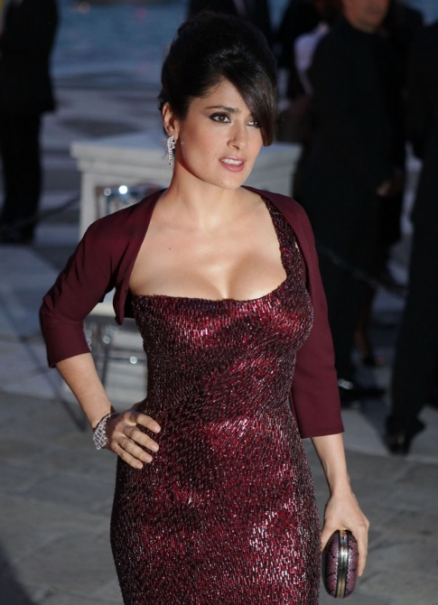 Nightly Treat: Salma Hayek II