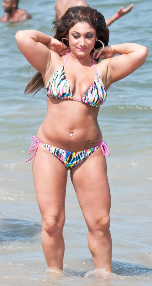 Jersey Shore Update: Deena Nicole Scary In A Bikini