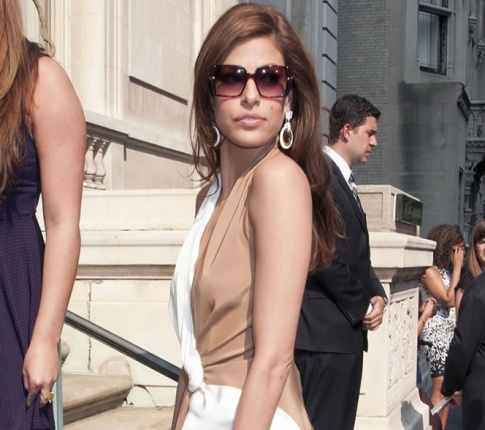 New Couple Alert?: Larry David And Eva Mendes?