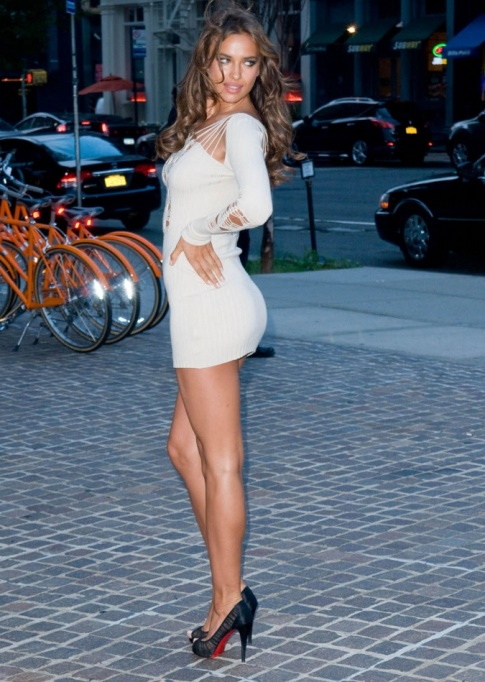 Hottest Dress Of The Week: Irina Shayk