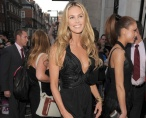 Elle MacPherson at the Golden Globes