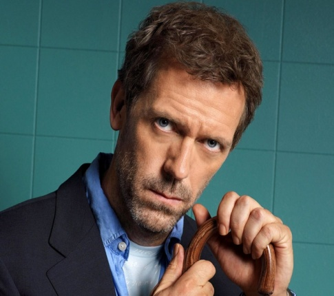 Hugh Laurie ready to move on from House.