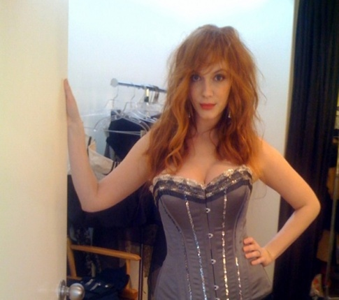 Christina Hendricks Hacked!
