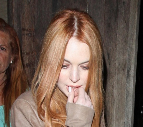 Lindsay Lohan Punched a Girl..