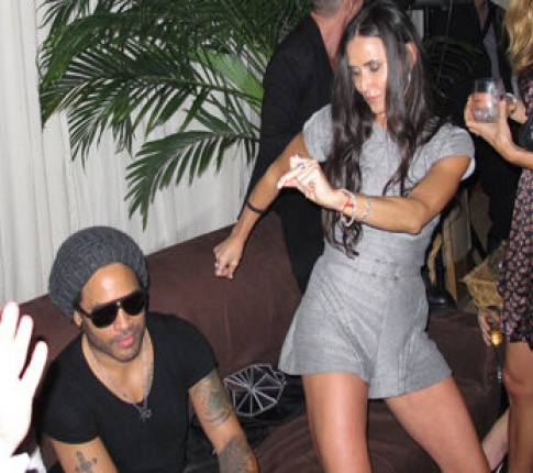 Demi Moore parties hard in Miami