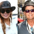 Lindsay Lohan finally thanks Charlie Sheen...