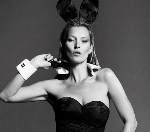 Kate Moss covers Playboy