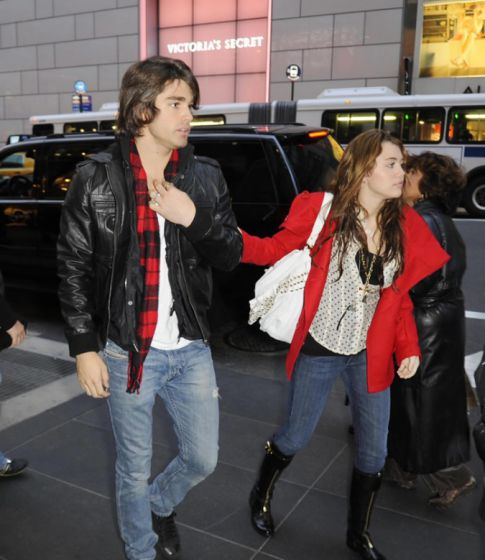 Are Justin Gaston and Billy Ray Using Miley? Yup!