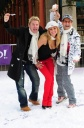 Nicola McLean Attends Yahoo! Snowball Fight, More Like Snow Melons