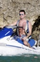 Simon Cowell Shows Off in Barbados, Ladies Swoon!