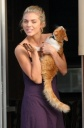 AnnaLynne McCord Shows Her What? Oh, Pussy Cat...