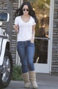 Megan Fox in Tight Jeans @ Office Depot