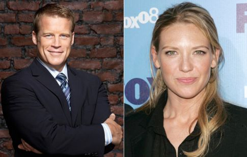 Fringe Stars Tie the Knot, Mark Valley and Anna Torv