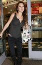 Audrina Patridge Eats Mexican Food, Makes Way to Bathroom
