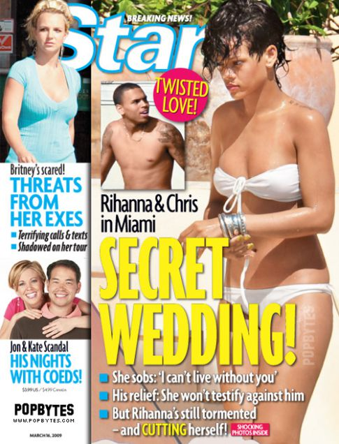 Rihanna and Chris Brown Got Married on Star Island