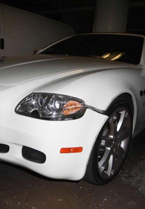 Lindsay Lohan Damages Her New $100,000 Maserati