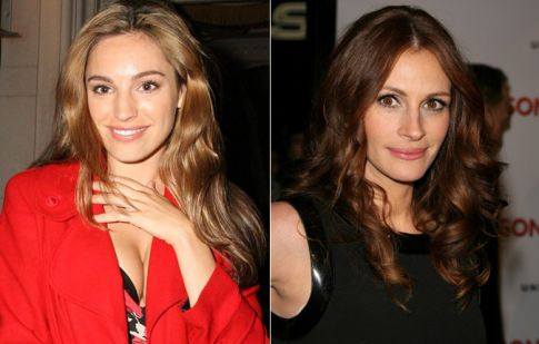 Kelly Brook vs. Julia Roberts